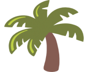 emoji android palm tree