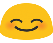 emoji android smiling face with smiling eyes