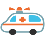 emoji android ambulance