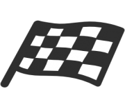 emoji android chequered flag