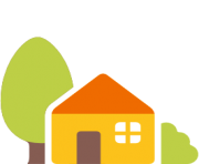 emoji android house with garden