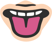 emoji android tongue