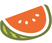 emoji android watermelon