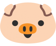 emoji android pig face
