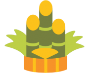 emoji android pine decoration