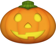 Pumpkin Emoji Png transparent background