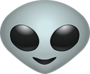 Alien Emoji png transparent Icon 2