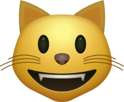 Smiling Cat Emoji Png apple hd high resolution