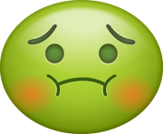 Poisoned Emoji Png transparent background