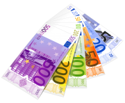 Euro Banknotes PNG Clipart 660