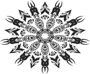 Tribal Mandala Png