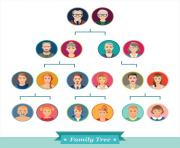 family tree photo clip art