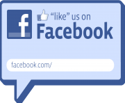 find us on facebook clipart