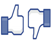 facebook like dislike clipart