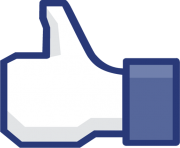 thumb up facebook like png