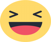 facebook haha emoji like png transparent background
