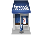 Facebook icon Store Shop