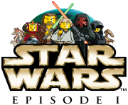 LEGO Star Wars Episode 1 logo clipart