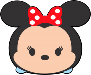 Disney tsum tsum clipart minnie mouse