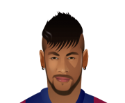 neymar face png cartoon