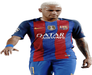 neymar png barcelone uefa blond hair