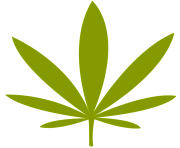 weed leaf png file simple marijuana leaf