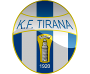 kf tirana football logo png