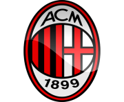 milan football logo png