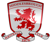 middlesbrough fc football logo png