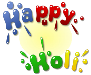 Happy Holi Text Free Download PNG