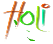 Happy Holi Text PNG HD