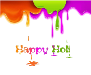 Happy Holi Text PNG Picture