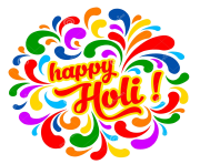 happy holi colorful festive splash indian