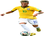 Neymar Junior Seleccion Brasil Png Football