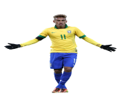 neymar 11 brazil png team football