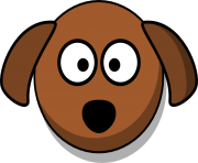 dog face clip art png