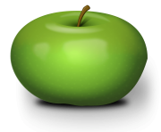 28 green png apple image
