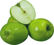 54 green apple png image