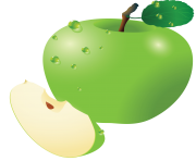 80 green apple png image