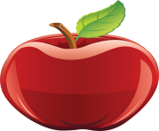 18 red apple png image