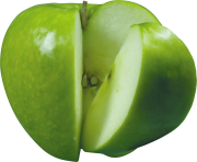 61 green apple png image