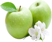 89 green apple png image