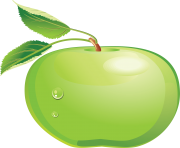 10 green apple png image