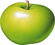 19 green apple png image