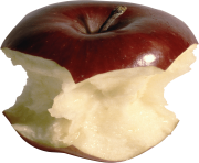81 bitten apple png image