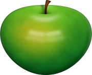 65 green apple png image