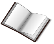 15 open book png image