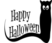 Happy Halloween Text PNG Pic