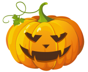 Transparent Halloween Pumpkin Png Clipart