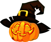 halloween black hat png
